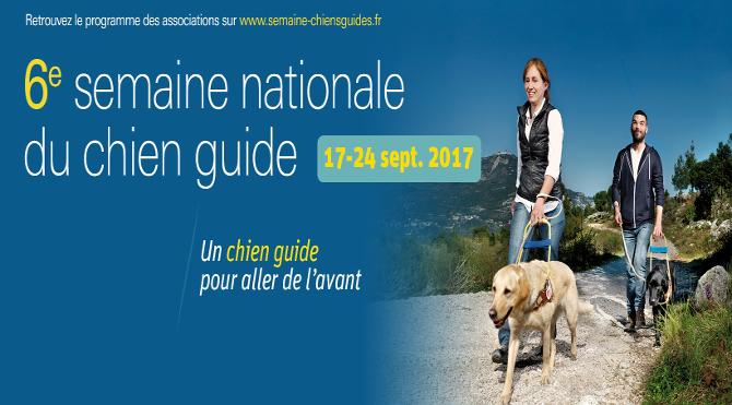 Participez à la semaine nationale chien guide 2017