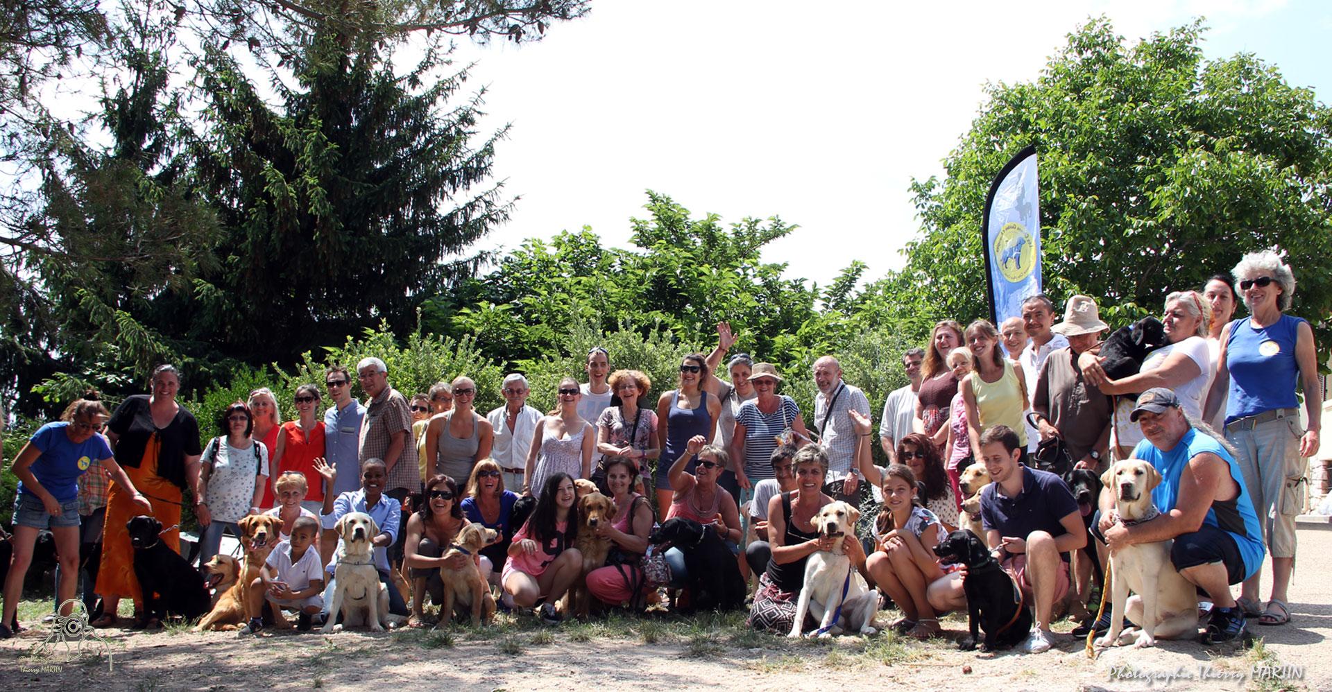 Familles d'accueil pour chiens guides d'aveugles