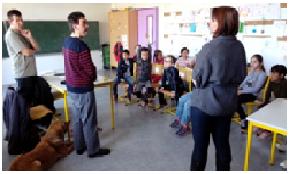 Sensibilisation au handicap visuel dans les collèges ou lycées, et collectivités