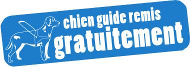 Chiens guide remis gratuitement